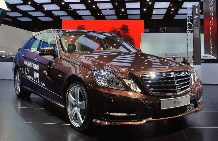 Гибридный Mercedes Benz E-класса