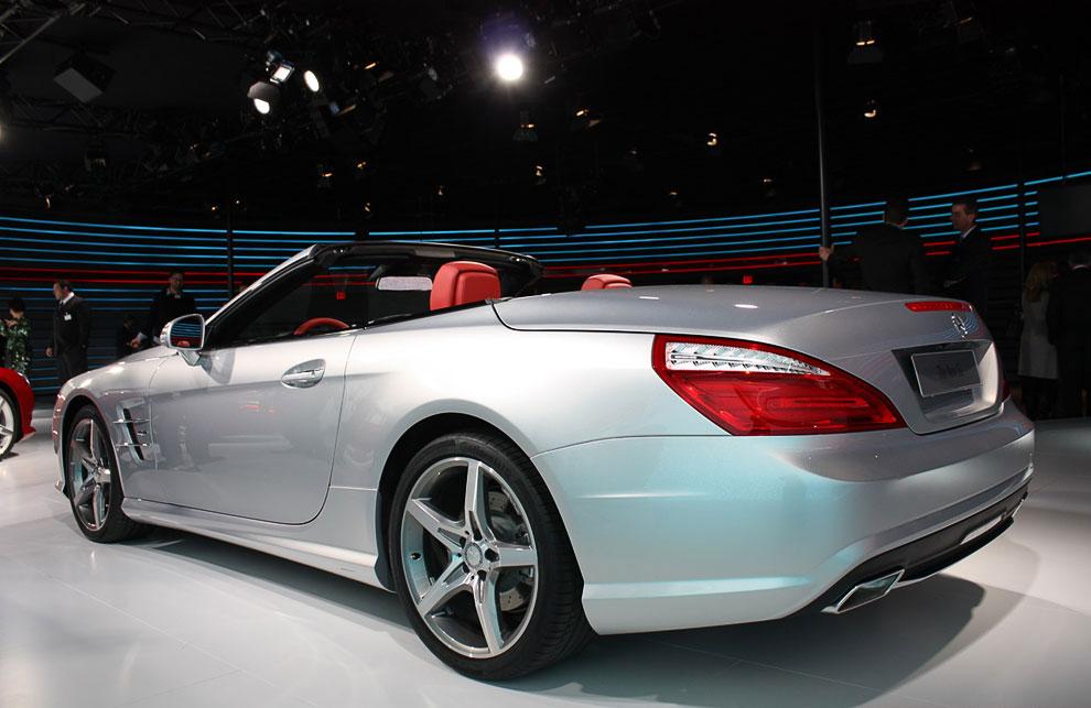 Родстер Mercedes Benz Sl, модель 2013 года