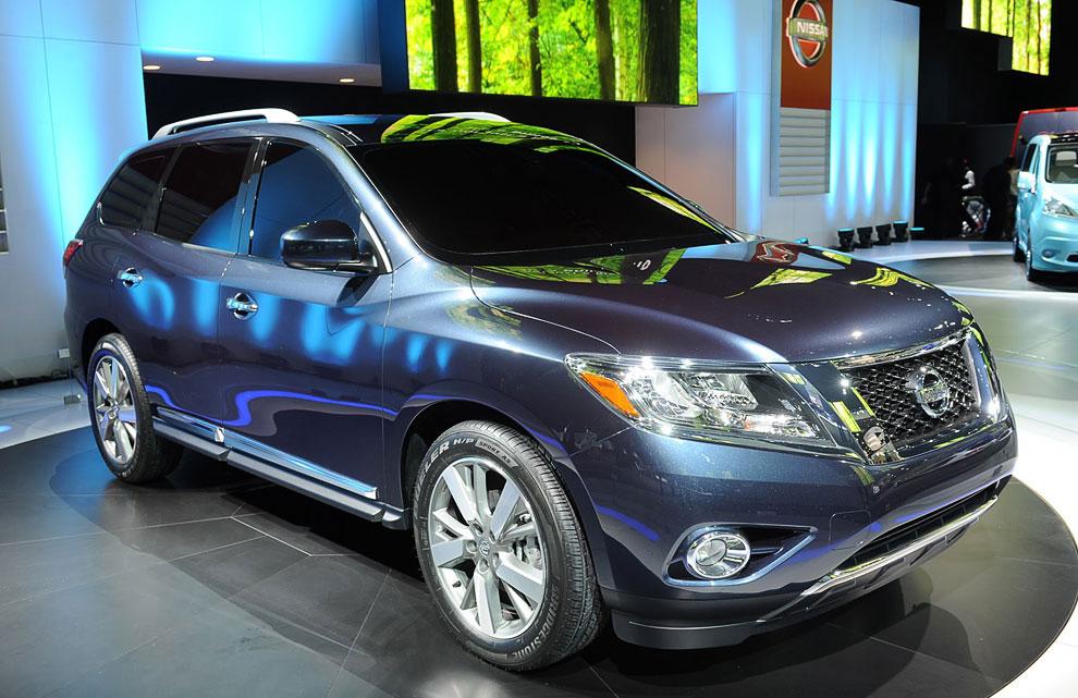 Концепт внедорожника Nissan Pathfinder