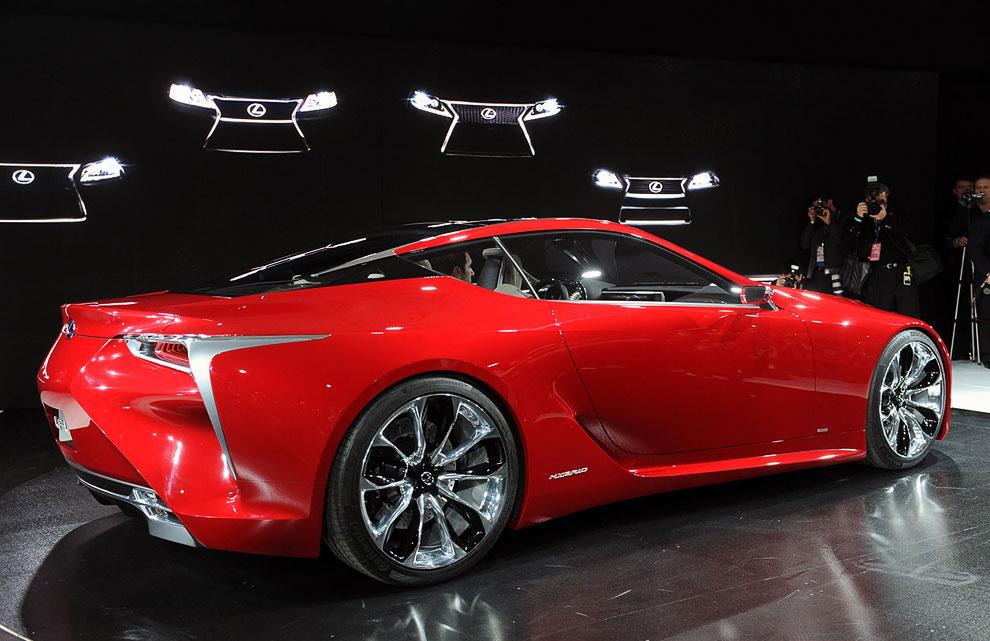 Концепт-кар Lexus LF-LC