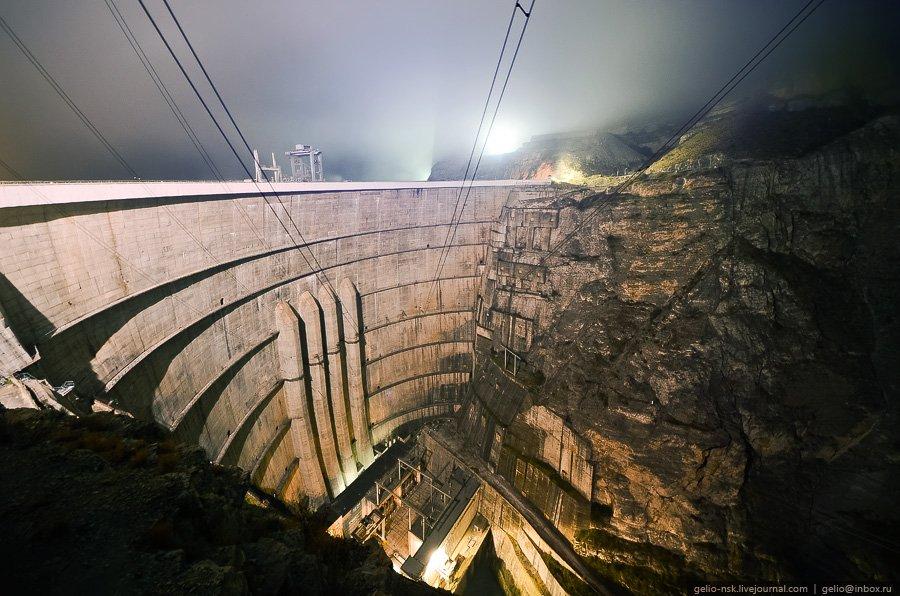 Чиркейская ГЭС — самая высокая плотина в России
