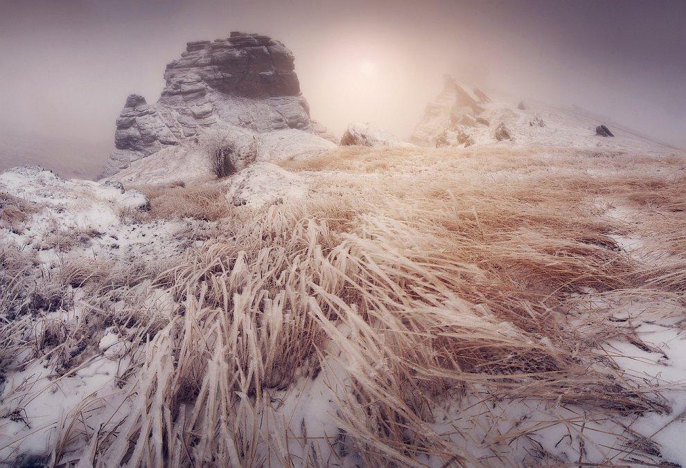 Путешествие в Крым: зимние пейзажи