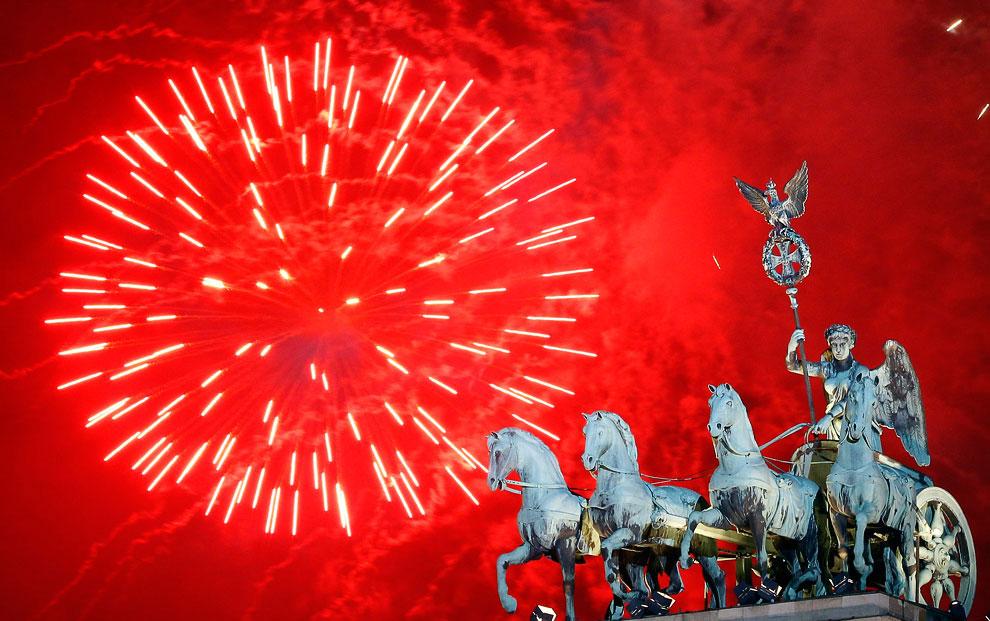 Встреча Нового года 2012 по всему миру