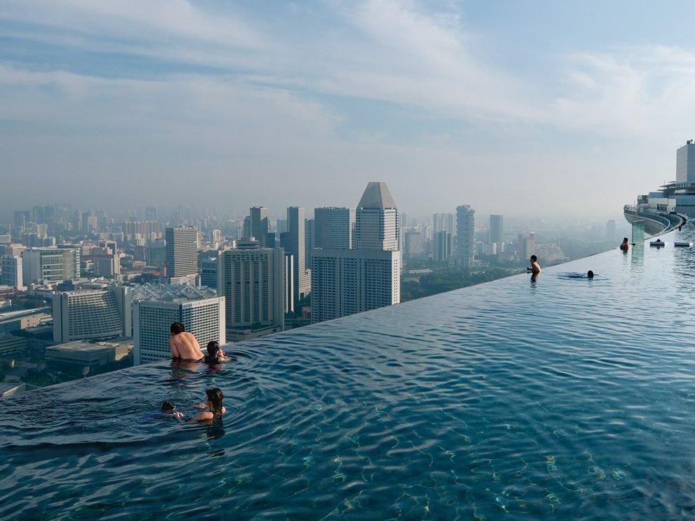 Бесконечный бассейн, Сингапур
