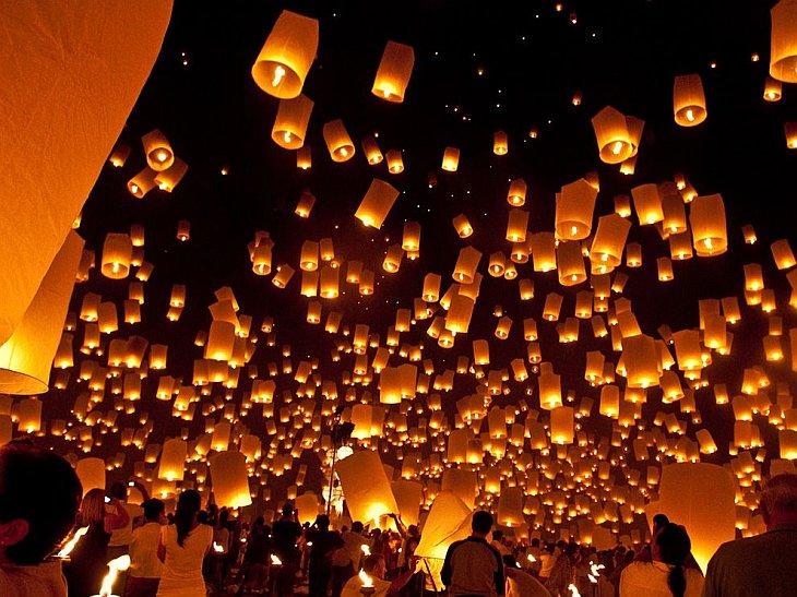 Фонарики, Таиланд