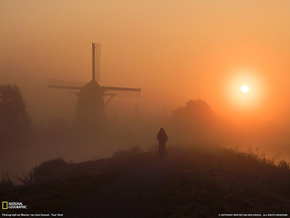 Утро в Голландии