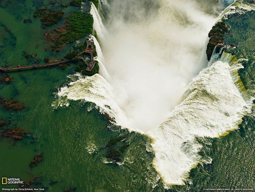 Водопады Игуасу, Аргентина и Бразилия