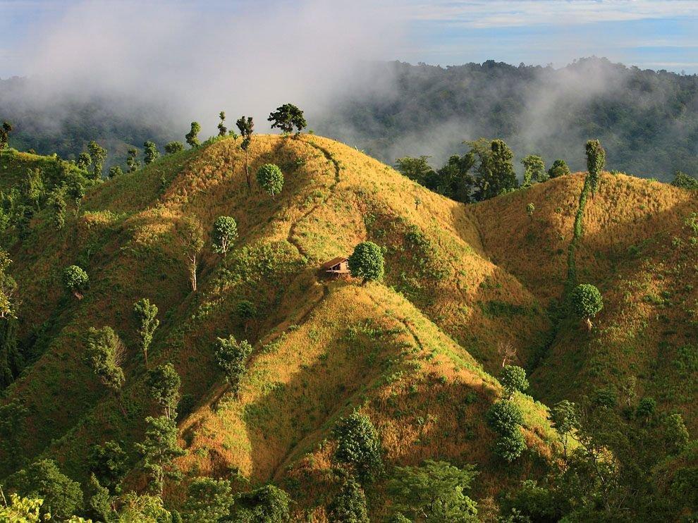 Горный район на юго-востоке Бангладеша