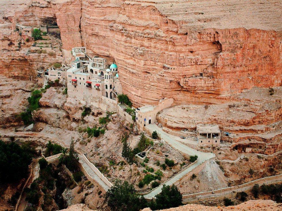 Монастырь Георгия Хозевита в Иудейской пустыне