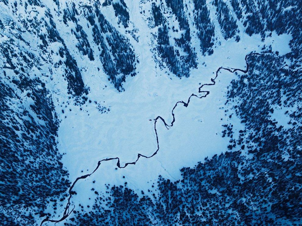 Истоки реки Снейк, США