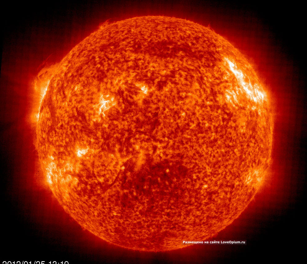 Самая сильная вспышка на Солнце за последние 7 лет