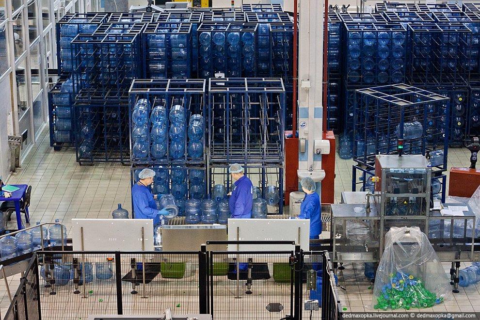 Экскурсия на производство чистой воды
