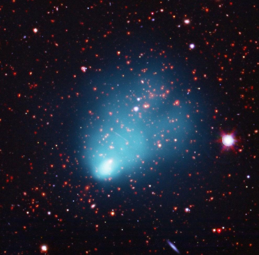 Галактический кластер El Gordo