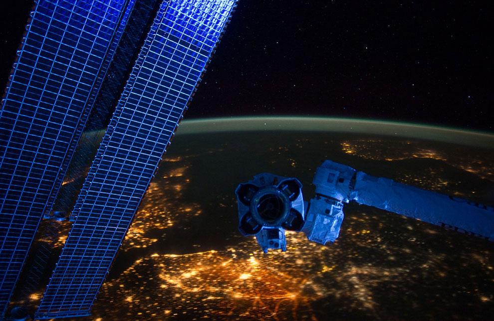 Ночная панорама Европы