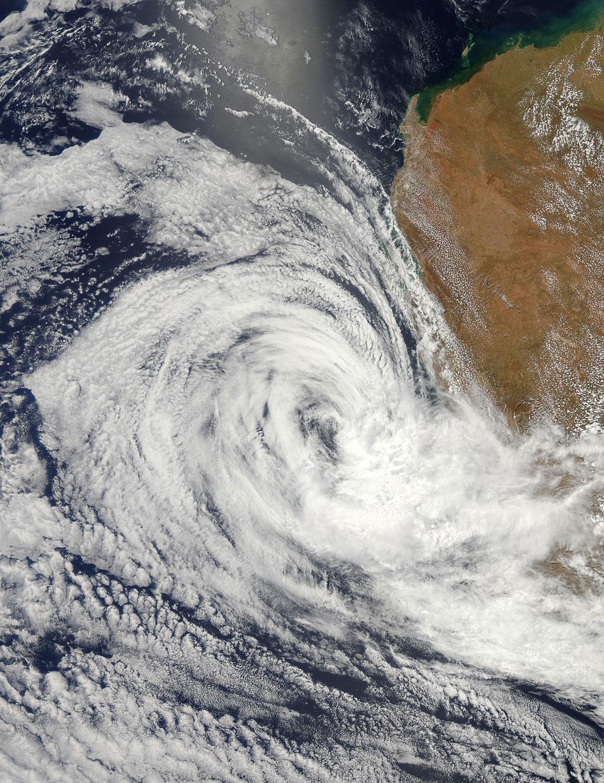 Тропический циклон Игги