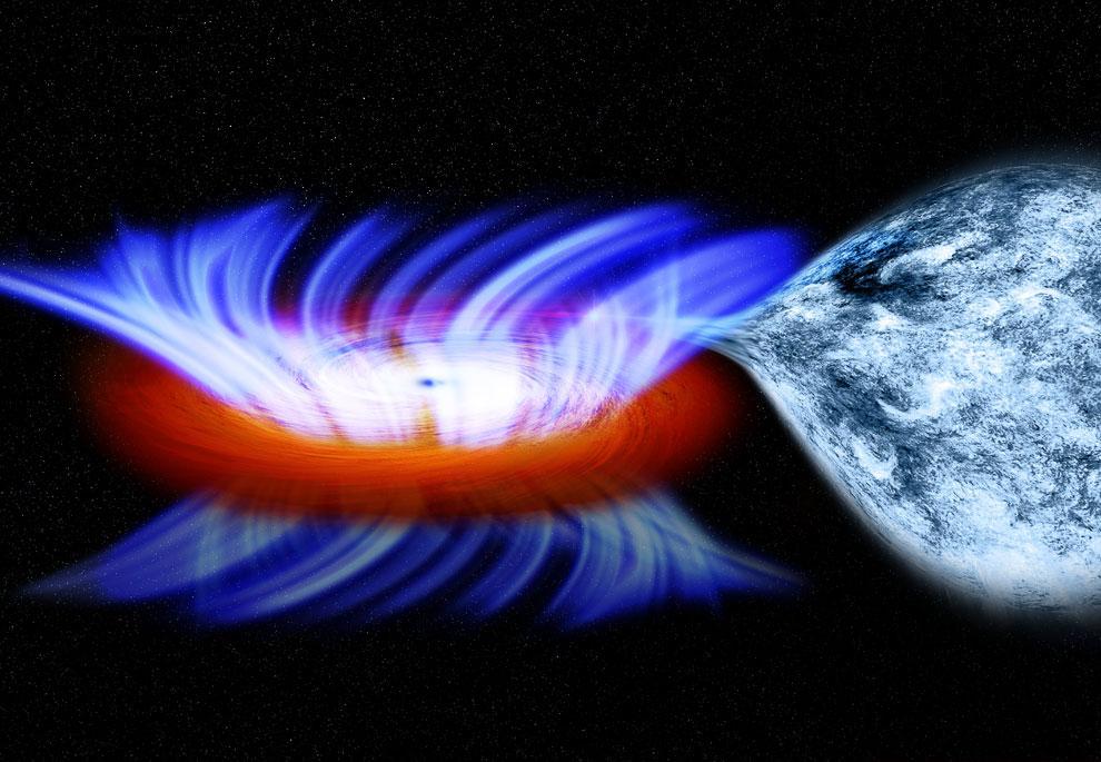 Черная дыра IGR J17091-3624
