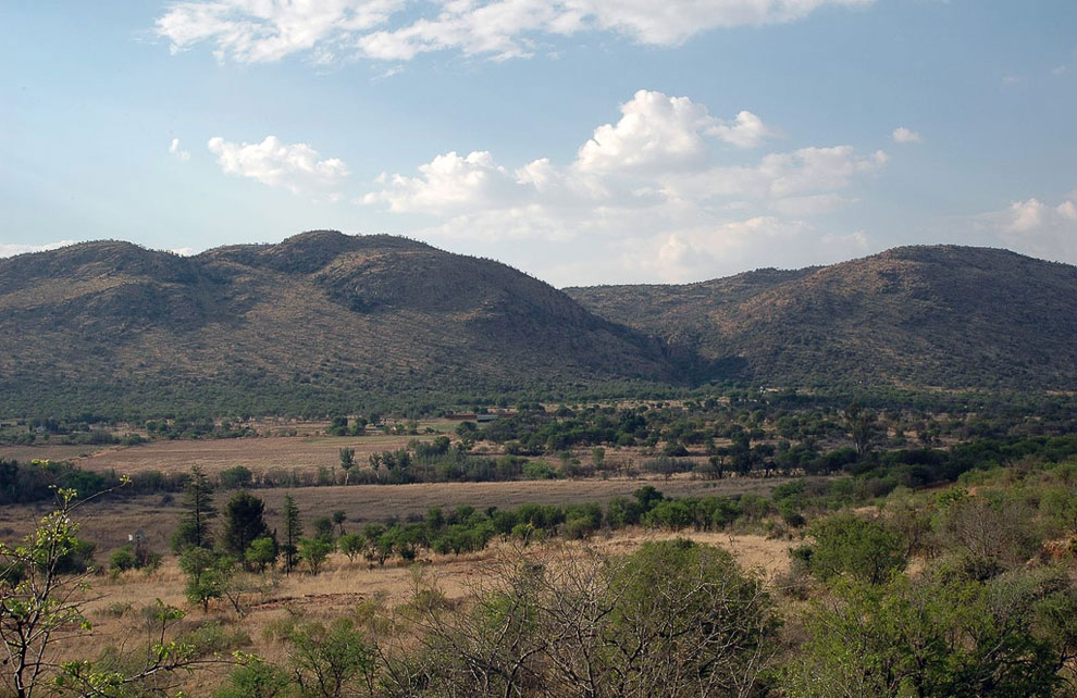 Кратер Вредефорт (провинции Фри-Стейт и Северо- Западная, ЮАР)