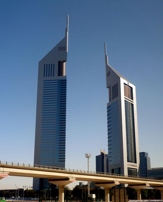 Jumeirah Emirates Towers Hotel, Дубай