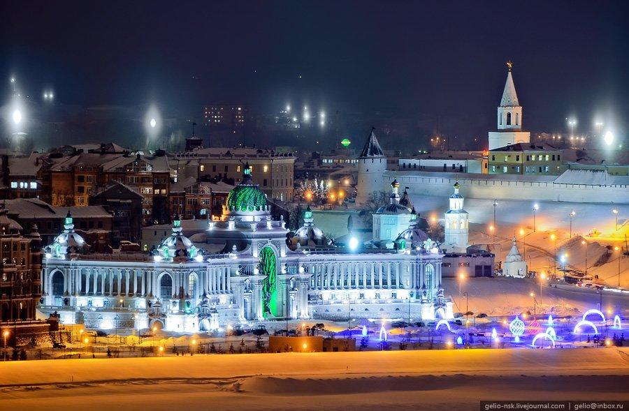 Зимняя Казань