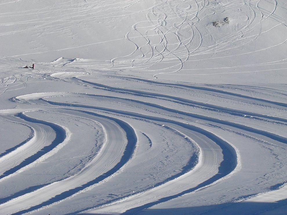 Ледник Кицштайнхорн — одно из самых высокогорных мест для катания в Европе