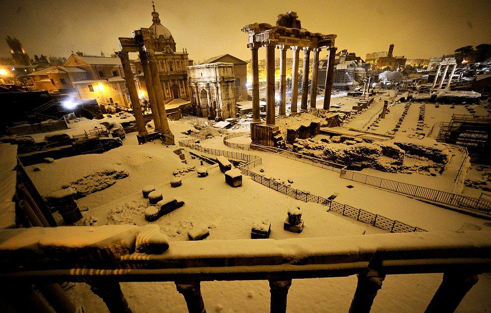 Аномальный холод в Европе. Часть 2