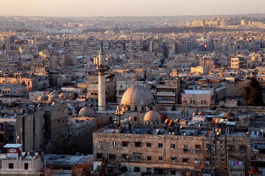 Алеппо — крупнейший город в Сирии