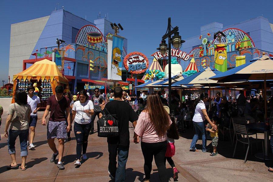 Экскурсия на киностудию Universal Studios