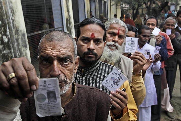 Как проходят выборы в Индии