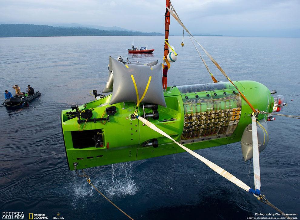 Глубоководный батискаф Deepsea Challenge