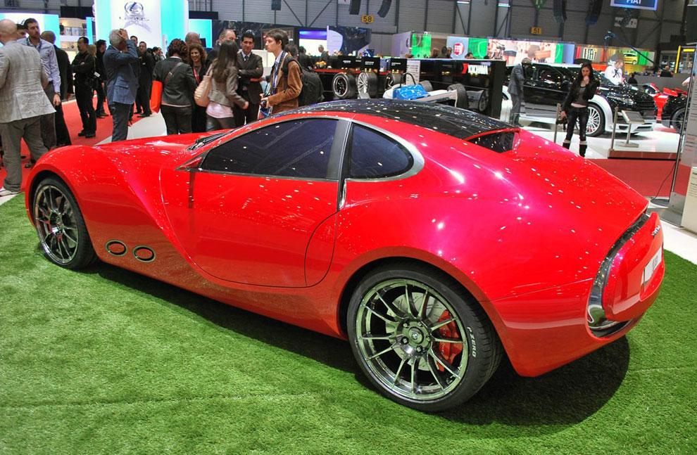 Концепт-кар Cisitalia 202 E