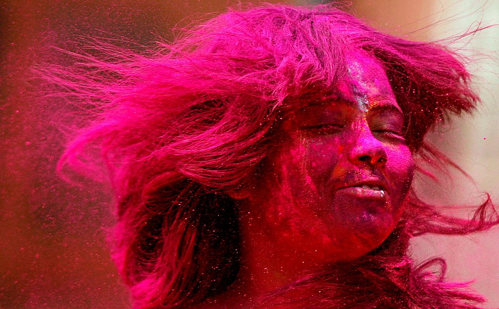 Холи 2012 — фестиваль весны и ярких красок