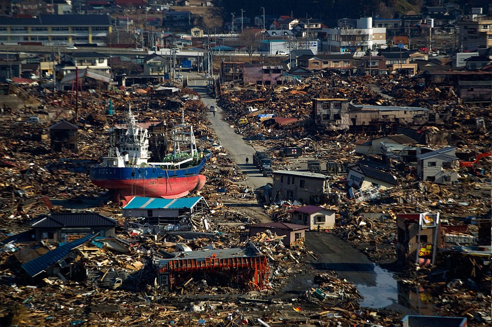 Год после трагедии в Японии