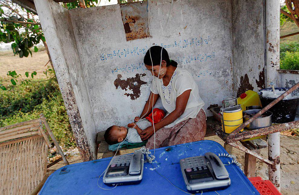 Мьянма: сцены из жизни