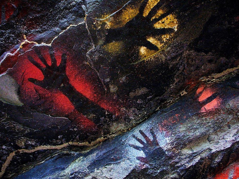 Пещерные отпечатки