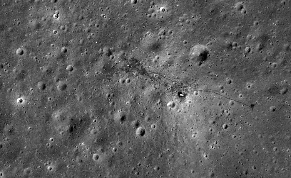 Место посадки «Аполлона-15»