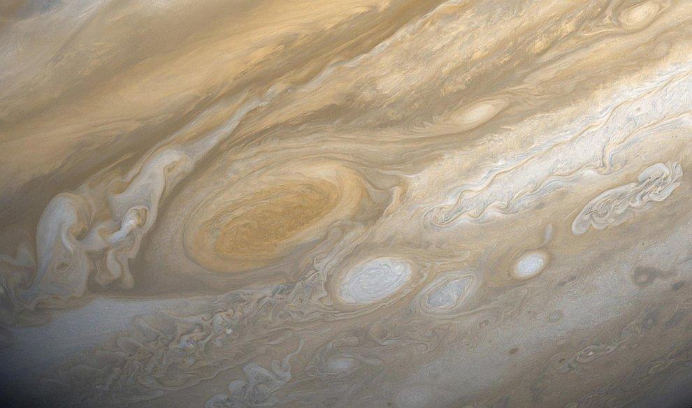 Старая фотография Юпитера