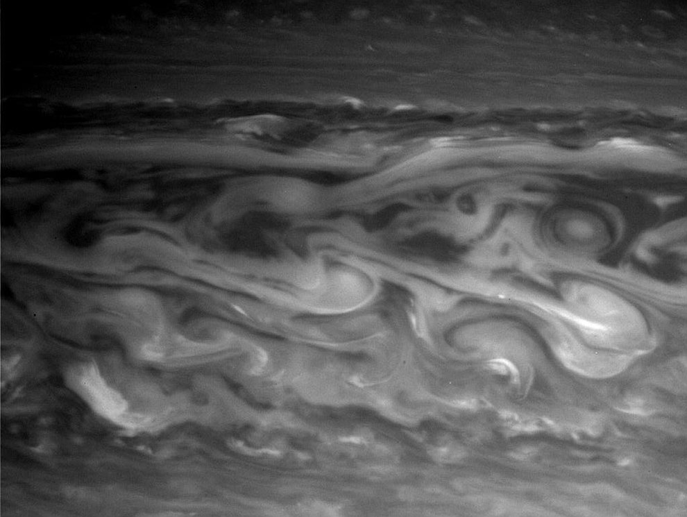 Облака на Сатурне