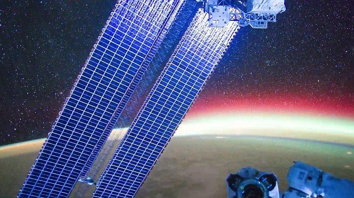 Как выглядят звезды с Международной космической станции