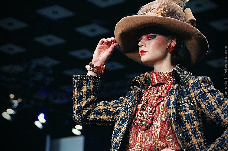 Российская неделя моды: показ Вячеслава Зайцева