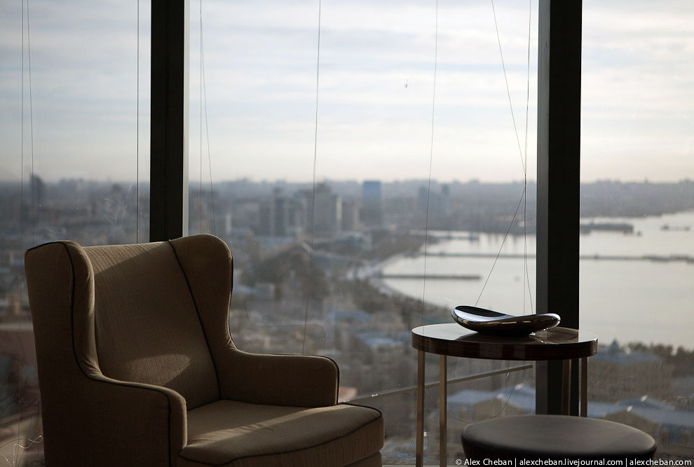 Баку: за месяц до Евровидения 2012