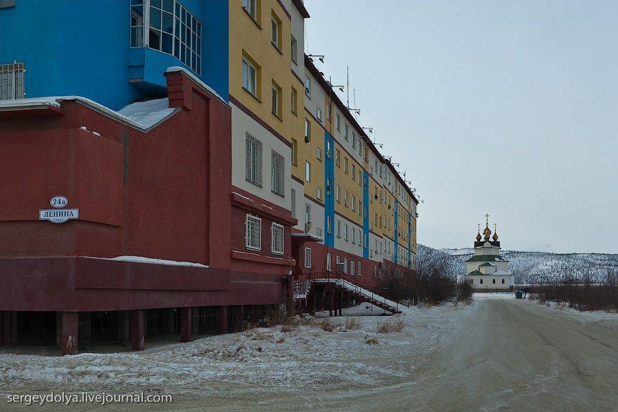 Заполярный город Билибино на Чукотке — один из самых дорогих городов на Земле