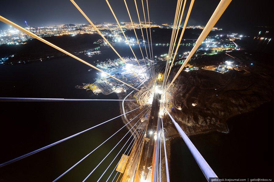 Вантовый мост на остров Русский во Владивостоке