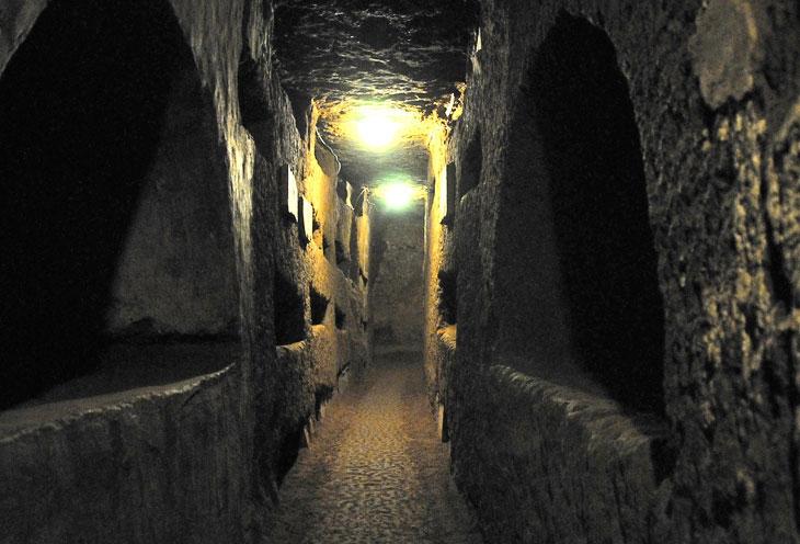 Катакомбы Рима (Рим, Италия)