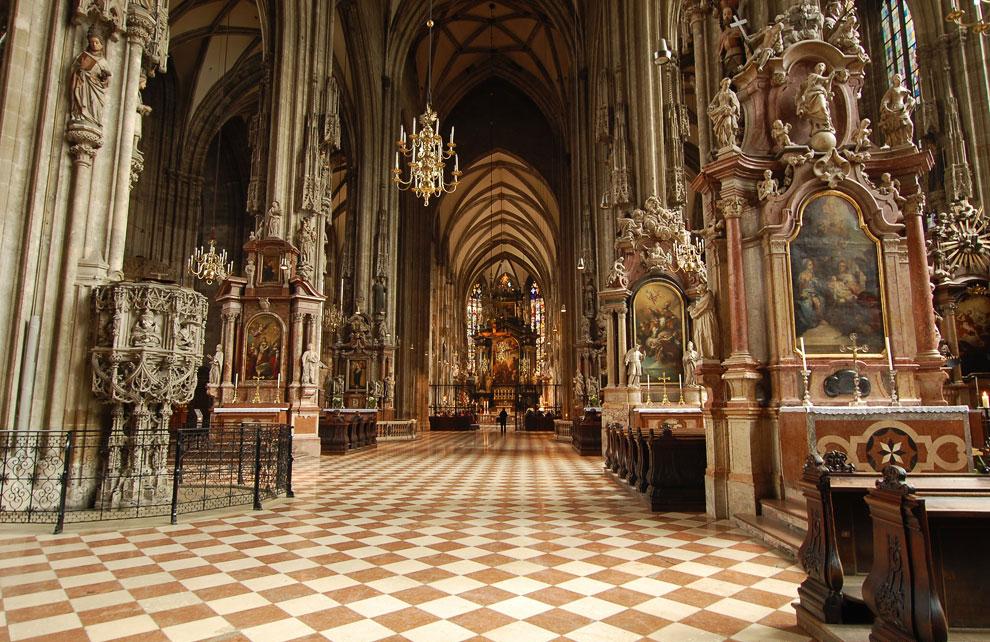 Катакомбы под собором святого Стефана