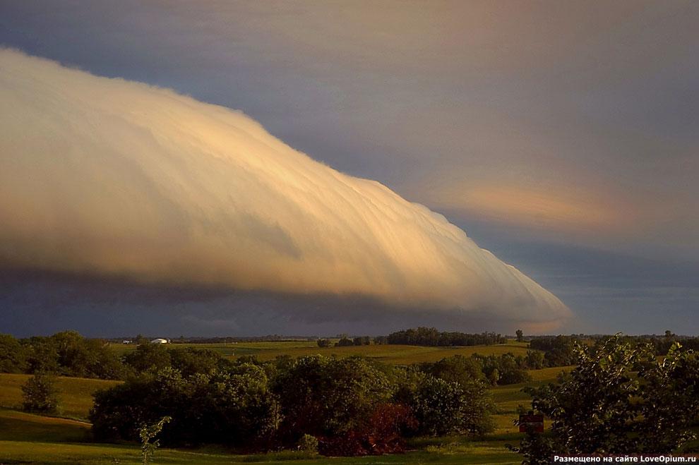 Редкие виды облаков 29 фото