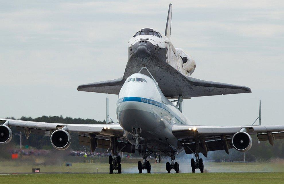 Прощальный полет шаттла «Дискавери»