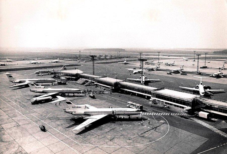 50 лет аэропорту Домодедово