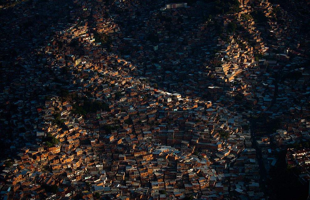 Трущобы в городе Петаре