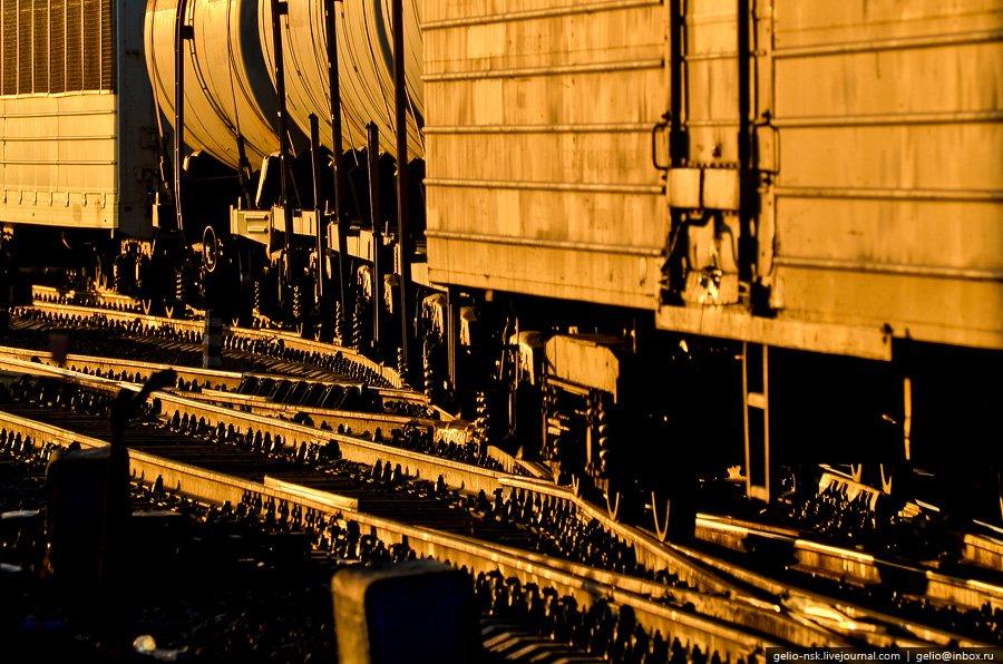 Инская — одна из крупнейших сортировочных станций в России