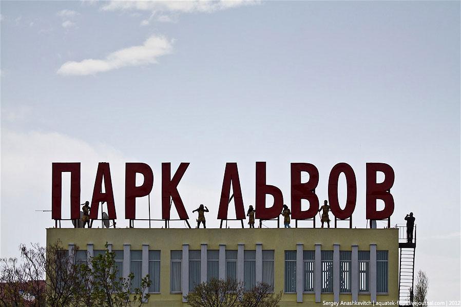 Сафари-парк львов в Крыму